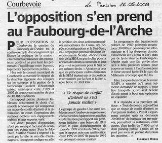 Article du Parisien