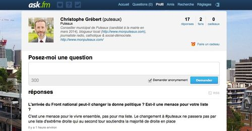 comment poser une question sur ask fm