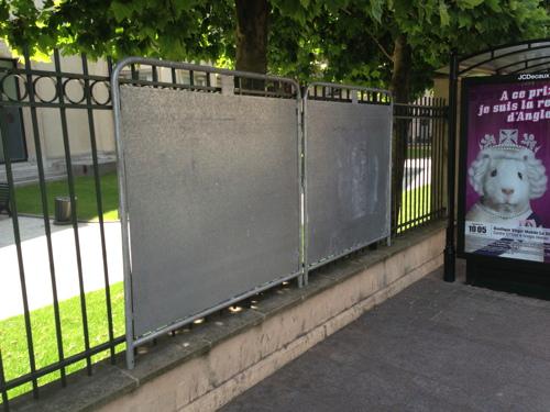 Panneaux, puteaux, boulevard wallace