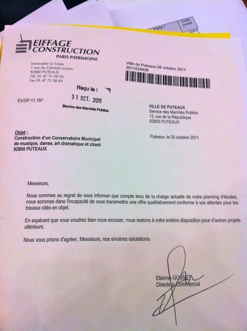 Documents Exclusifs Troublant Marche Du Conservatoire De Puteaux