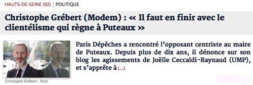 Parisdepeches