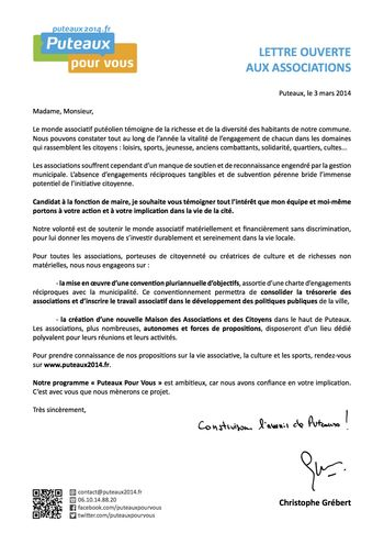 Lettre aux associations-PPV