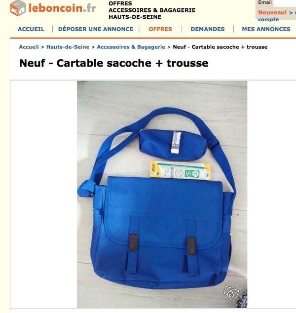 fadada786b Les fournitures scolaires de la ville de Puteaux revendues sur internet ...